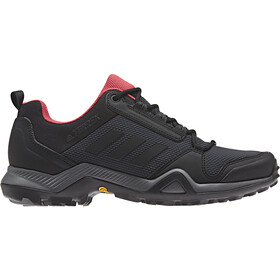 adidas TERREX AX3 Hiking Shoes Lightweight Women, carbon/core black/active pink